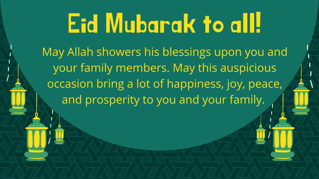 A Warm Wishes From Dr. Nowhera Shaik On The Occasion of Eid-ul-Adha!